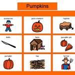 Thematic Bingo -Pumpkins